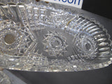 ABP Crystal Cut Glass celery signed Libbey