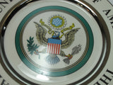 The great seal of the United states of america plate