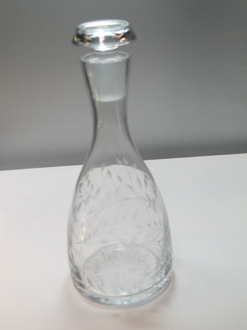 Lenox Cut glass Crystal decanter Made in USA