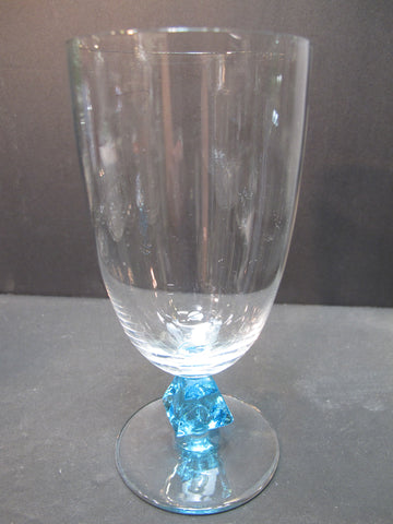 Bryce Aquarius beverage glass blue Crystal