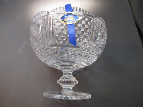 Hand Cut Glass compote, Tipperary crystal