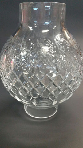 ROGASKA cut glass globe - O'Rourke crystal awards & gifts abp cut glass