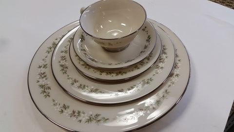 Lenox Brookdale China 5 piece setting - O'Rourke crystal awards & gifts abp cut glass
