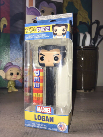 tilmans-toys - Funko POP! PEZ  Logan Wolverine X-Men- New in Package - Tilman's Toys  -