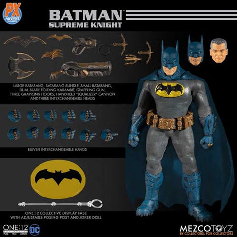 *PRE-ORDER* Mezco One: 12 Collective Batman Supreme Knight PX Exclusive