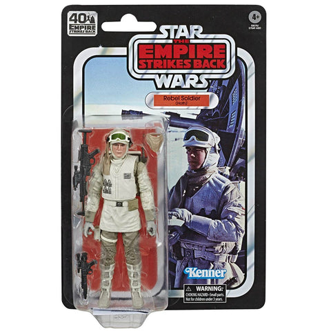 Star Wars The Black Series 40th Anniversary ESB Hoth Rebel Trooper 6 Inch Action Figure