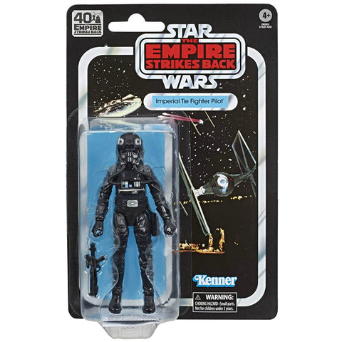 Star Wars The Black Series 40th Anniversary ESB Tie Fighter Pilot 6 Inch Action Figure