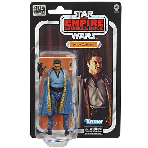 Star Wars The Black Series 40th Anniversary ESB Lando Calrissian 6 Inch Action Figure