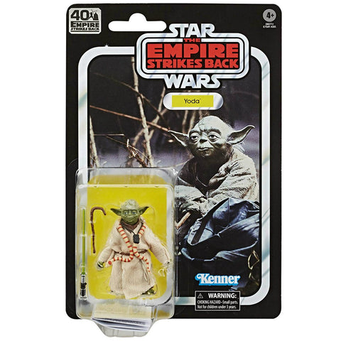 *PRE-ORDER* Star Wars The Black Series 40th Anniversary ESB Yoda 6 Inch Action Figure