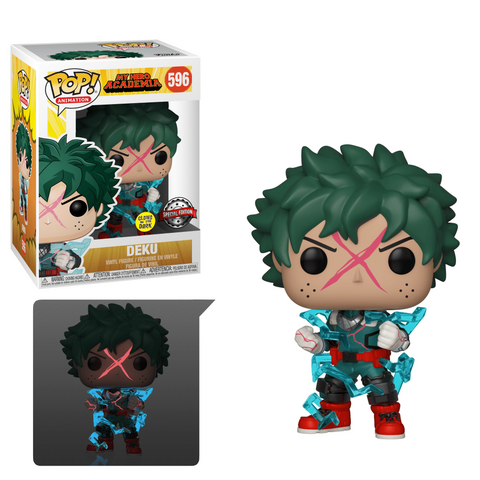 tilmans-toys - PRE-ORDER Funko POP!  My Hero Academia Deku Full Cowl GITD EE Exclusive - EE Distribution - Funko POP!