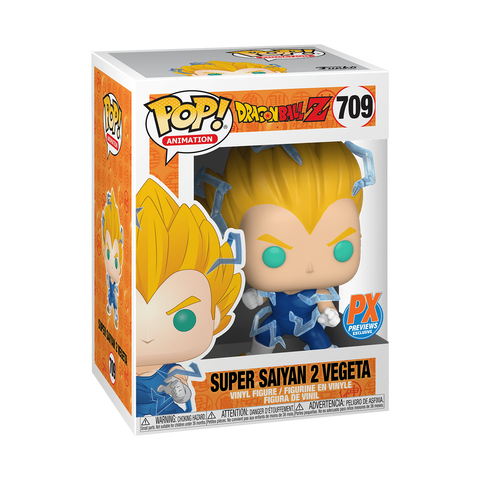 *PRE-ORDER* Funko POP! Super Saiyan 2 Vegeta PX Exclusive DBZ