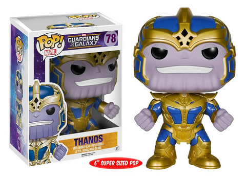 Funko POP Thanos GITD Entertainment Earth Exclusive 6 Inch