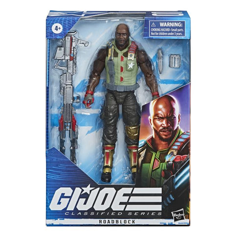 G.I. Joe Classified Series Roadblock 6 Inch Action Figure