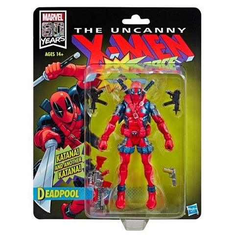 *PRE-ORDER* X-Men Retro Marvel Legends Deadpool X-Force 6 Inch Action Figure