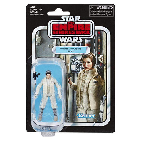 tilmans-toys - Star Wars Vintage Collection Princess Leia Organa (Hoth) VC02 - EE Distribution - Action Figure