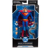 DC Multiverse Animated Superman McFarlane Wave 1 7 inch Figure