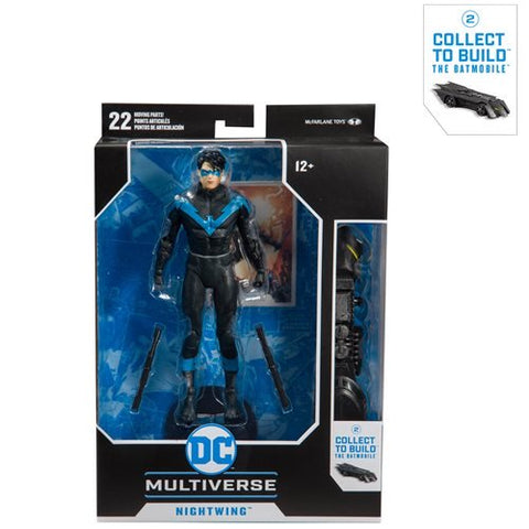 *PRE-ORDER* DC Multiverse Nightwing McFarlane Wave 1 7 inch Figure