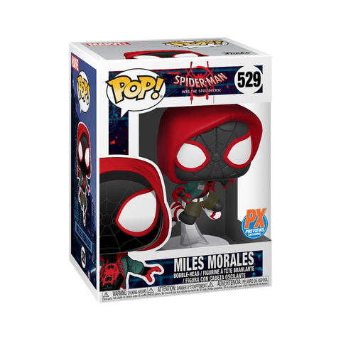 tilmans-toys - *PRE-ORDER* Funko POP! Miles Morales Into The Spiderverse PX Exclusive - Funko - Funko POP!