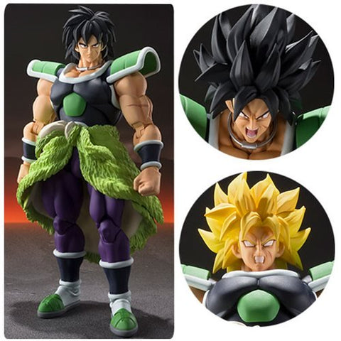 Dragon Ball Super: Broly S.H. Figuarts Broly Action Figure