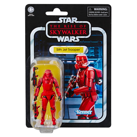 tilmans-toys - *PRE-ORDER* Star Wars Vintage Collection Sith Jet Trooper The Rise of Skywalker - EE Distribution - Action Figure