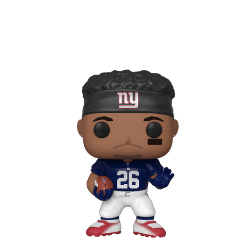 tilmans-toys - *PRE-ORDER* Funko POP! Saquon Barkley New York Giants (Blue Jersey) NFL - Funko - Funko POP!