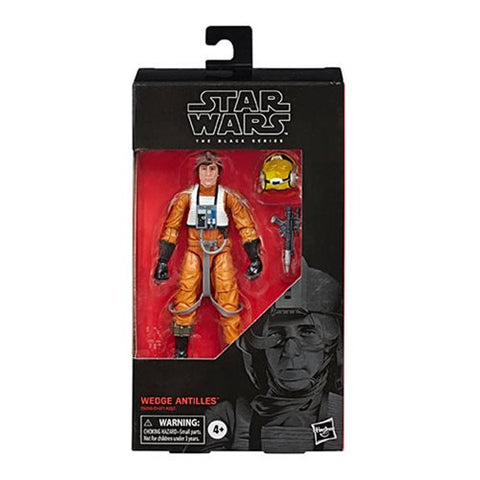 tilmans-toys - *PRE-ORDER* Star Wars The Black Series Wedge Antilles Six Inch - EE Distribution - Action Figure