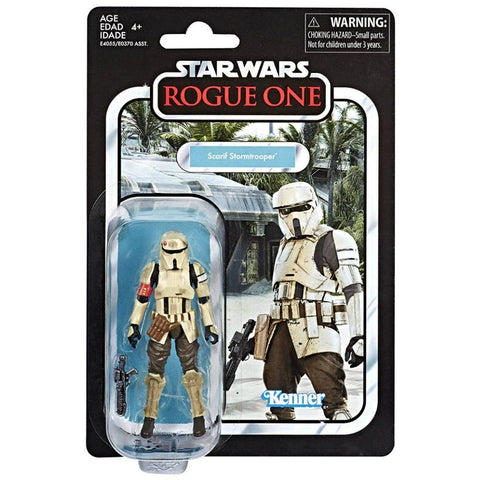 tilmans-toys - Star Wars Vintage Collection Scarif Stormtrooper (Rogue One) - EE Distribution - Action Figure