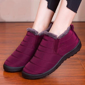 Luxe Ultra-Thermal Plush Fur Boots