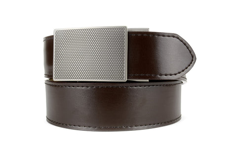 DEFENDER BROWN LEATHER CONCEALED TACTICAL BELT