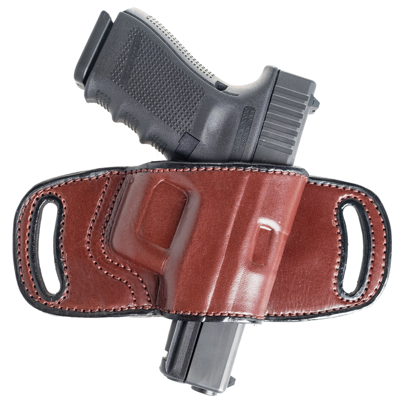 Quick Draw OWB Belt Loop Leather Holster