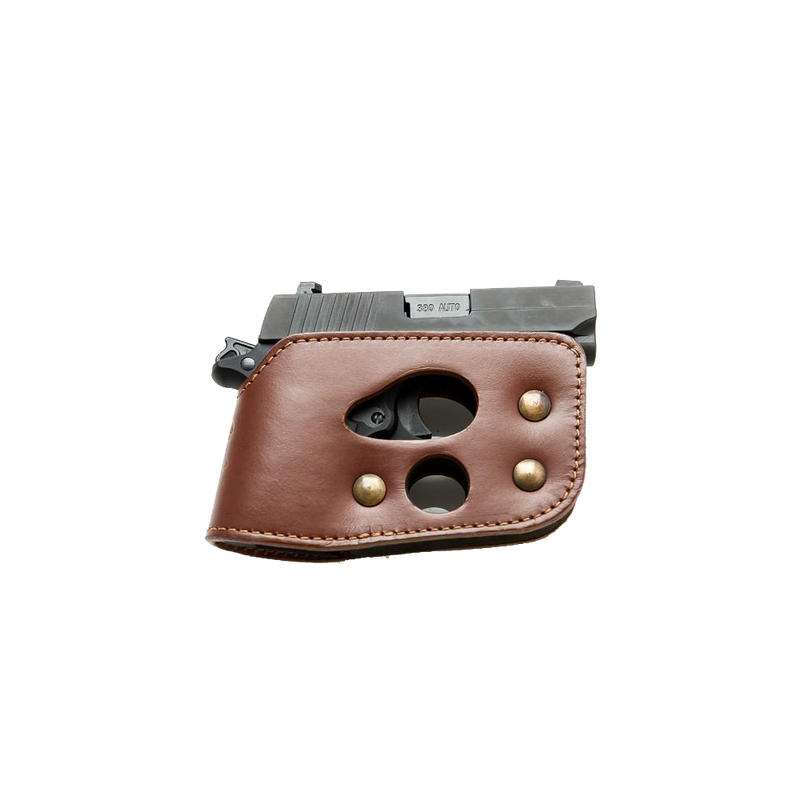 Shoot Thru Holster Leather
