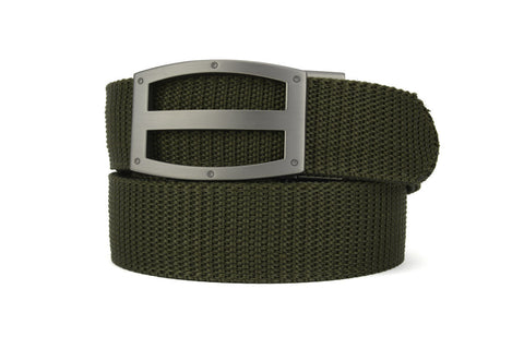 TITAN OD GREEN TACTICAL RATCHET BELTS