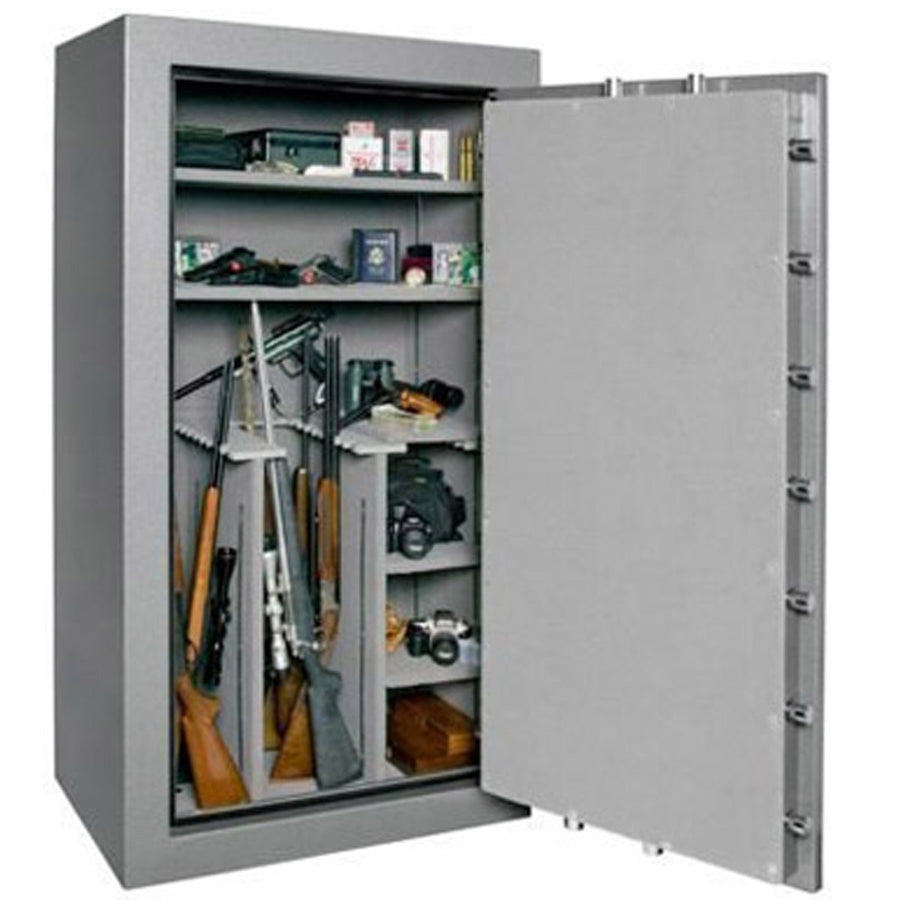 Homeland Safe Tall Shotgun Safe Level V – 72 x 40 x 27 – 7 Gauge Body – 32 Guns – 1.5 Hours @ 1200° Fire Rating