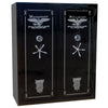Homeland Safe Double Door Gun Safe Level VII – 72 x 60 x 27 – 4 Gauge Body – 64 Guns – 2.5 Hours @ 1200° Fire Rating