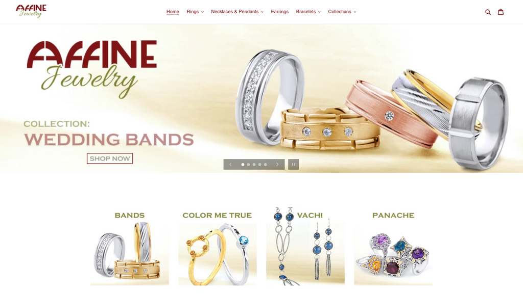 Affine Jewelry relaunch 2021