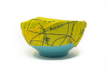 Load image into Gallery viewer, Buzzee Reusable Foodwraps- Busy Bees - 4 PACK