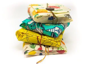 Buzzee Reusable Sandwich Wrap - HARVEST
