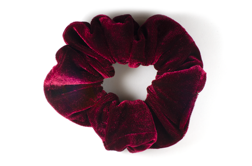 deep rose regular scrunchie