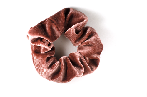 Mulberry light mini scrunchie