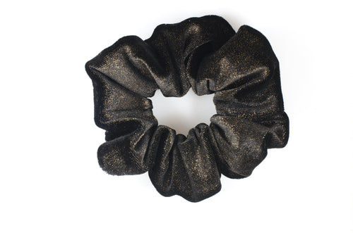 Black Glitter scrunchie