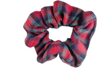 Load image into Gallery viewer, Cozy Cabin repurposed scrunchie
