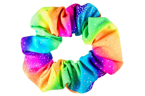 pride coloured scrunchie