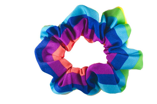 Pride Rainbow scrunchie
