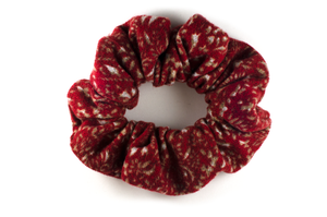 dark red (pinot noir) scrunchie
