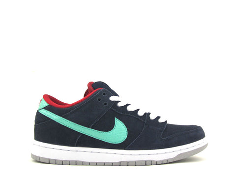 Nike SB Dunk Low Pro Obsidian/Crystal Mint-Gym Red 304292-436