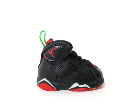Air Jordan 7 Retro (TD) Toddler Blck/Unvrsty Rd-Grn Pls-Cl Gry 304772-028