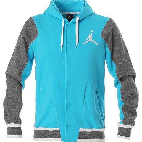 Air Jordan Jumpman Button Up Hoodie 547693-456