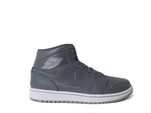 Air Jordan 1 Mid Cool Grey/Cl Gry-White-Wlf Gry 554724-031