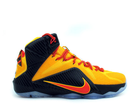 "Nike LeBron XII Laser Orange./Bright Crimson 684593-830 ""CLEVELAND"""