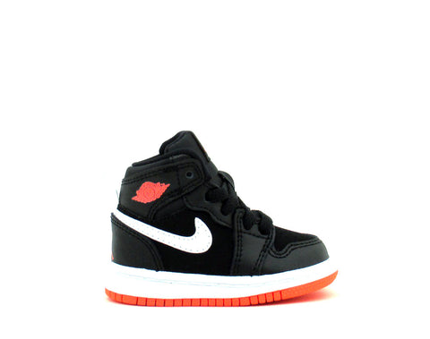 Air Jordan 1 Retro High GT (TD) Toddler Black/Hot Lava-White 705324-028